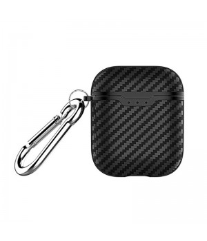 Защитный чехол для Apple Airpods (Carbon black)