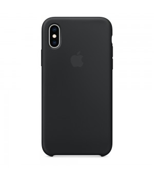 Silicone case для Iphone Xs Max (Black)
