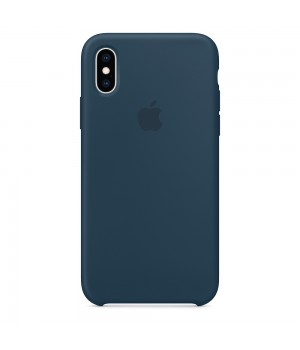 Silicone case для iPhone X/Xs (Pacific Green)