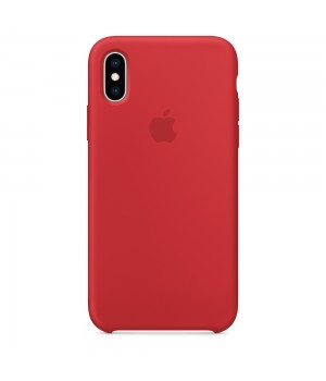Silicone case для Iphone Xs Max (Red)