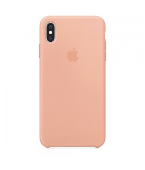 Silicone case для iPhone Xs Max (Pink)