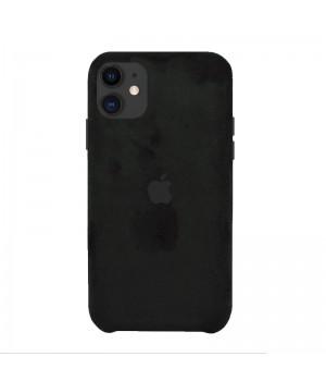 Чехол Alcantara Case для iPhone 11 (Black)