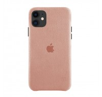 Чехол Alcantara Case для iPhone 11 (Light Pink)