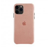 Чехол Alcantara Case для iPhone 11 Pro (Light Pink)