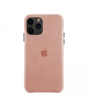 Чехол Alcantara Case для iPhone 11 Pro (Light Pink)