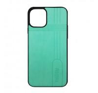 Чехол силиконовый Remax для iPhone 11 Pro (Mint Leather )