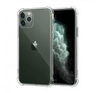 Чехол силиконовый противоударный для iPhone 11 Pro (Прозрачный)