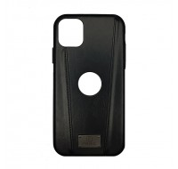 Чехол PULOKA для iPhone 11 (Black 2 Line)