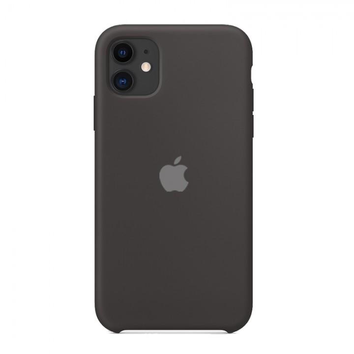 Silicone case для iPhone 11 (Black)