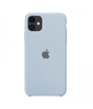 Silicone case для Iphone 11 (Blissful blue)