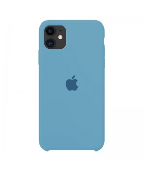Silicone case для iPhone 11 (Blue Sky)