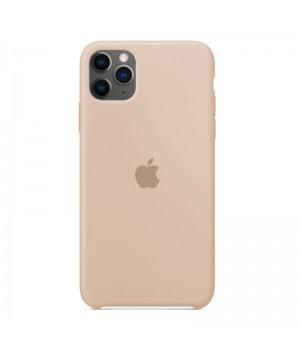 Silicone case для iPhone 11 Pro (Beige)