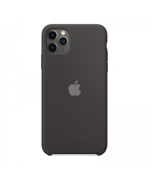 Silicone case для iPhone 11 Pro Max (Black)
