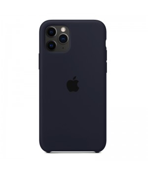 Silicone case для iPhone 11 Pro (Dark Blue)