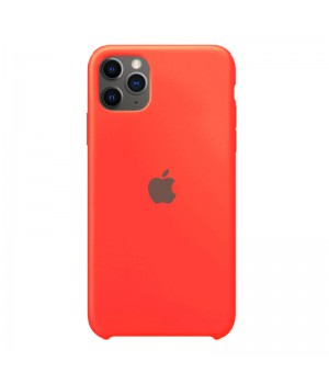 Silicone case для iPhone 11 Pro (Fluorescent Pink)