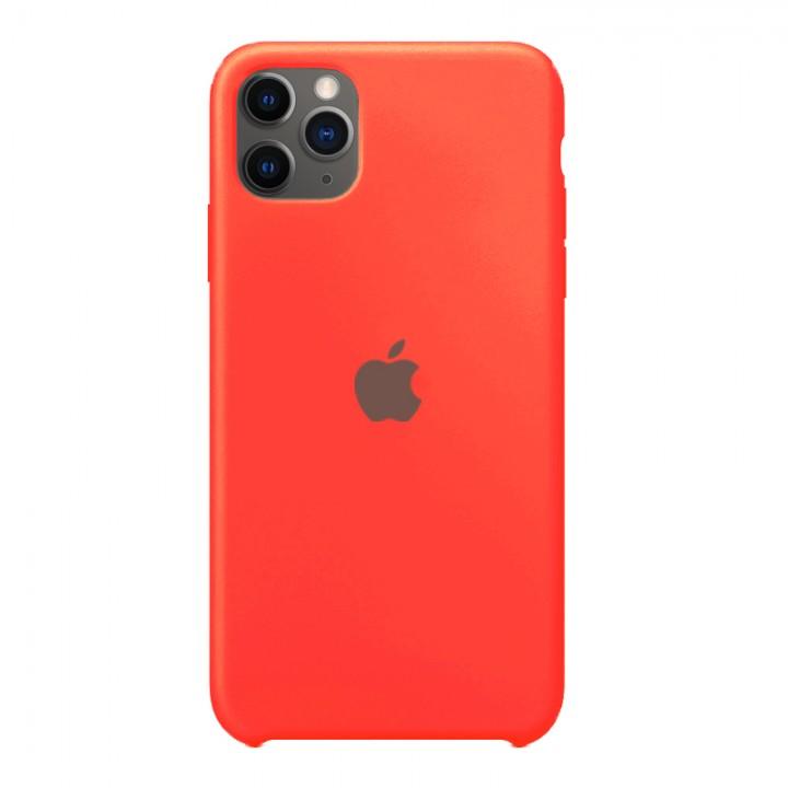 Silicone case для iPhone 11 Pro (Fluorescent Pink)