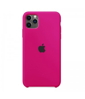 Silicone case для iPhone 11 Pro Max (Hot Pink)