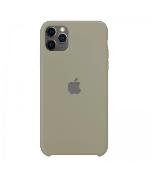 Silicone case для iPhone 11 Pro (Light grey)