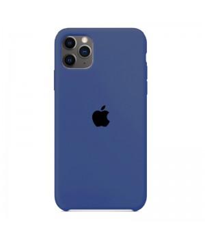 Silicone case для iPhone 11 Pro Max (Azure)