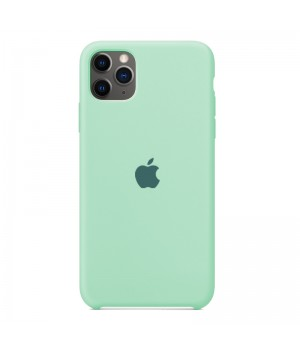 Silicone case для iPhone 11 Pro (Mint)
