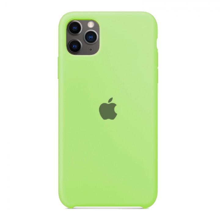 Silicone case для iPhone 11 Pro (Olive)