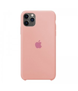 Silicone case для iPhone 11 Pro (Pink)