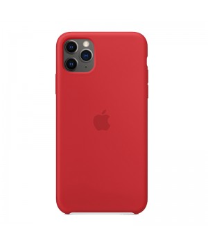 Silicone case для Iphone 11 Pro Max (Red)