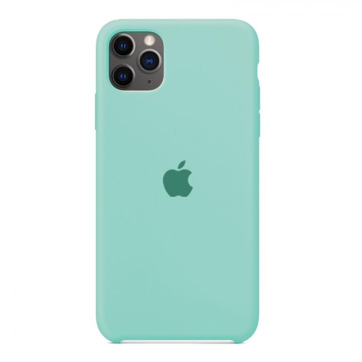 Silicone case для iPhone 11 Pro (Turquoise)