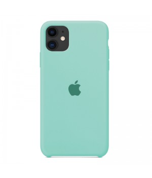 Silicone case для Iphone 11 (Turquoise)