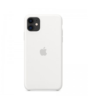 Silicone case для iPhone 11 (White)