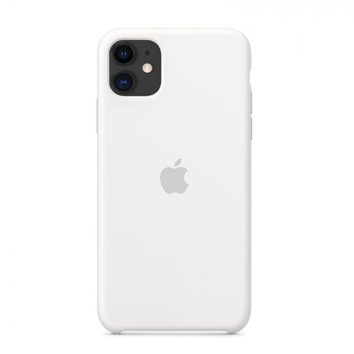 Silicone case для iPhone 11 (White)