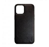 Чехол COBLUE под кожу для iPhone 13 (Black leather)