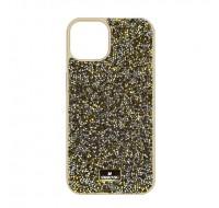 Чехол Swarovski для iPhone 13 (Gold shine)