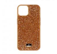 Чехол Swarovski для iPhone 13 (Orange shine)