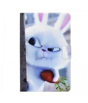 Чехол-книжка для планшета Samsung Galaxy Tab S5e 2019 (SM-T725) (Rabbit Snowball)