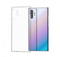 Полиуретановый чехол Hoco для Samsung Galaxy Note 10 Plus (Прозрачный)