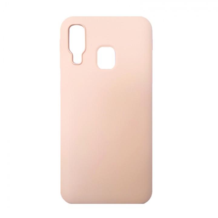 Силиконовый чехол для Samsung Galaxy A40 (Powder)