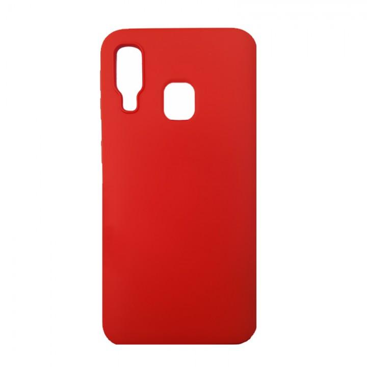 Силиконовый чехол для Samsung Galaxy A40 (Red)