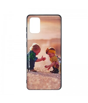 Чехол пластиковый для Samsung Galaxy A71 (Children)