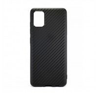 Чехол силиконовый  для Samsung Galaxy A71 (Carbon Black)