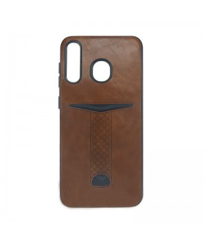 Гелевый чехол для Samsung Galaxy A30 (Brown card)