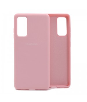 Чехол Silicone Cover для Samsung Galaxy S20 FE (Light Pink)