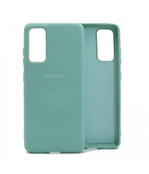 Чехол Silicone Cover для Samsung Galaxy S20 FE (Mint)
