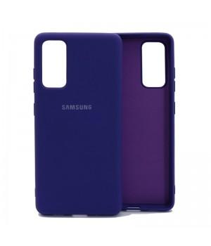 Чехол Silicone Cover для Samsung Galaxy S20 FE (Violet)