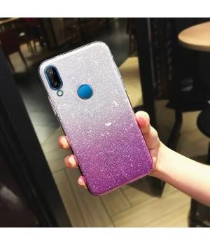 Гелевый чехол для Xiaomi Redmi Note 7 (Gradent Violet)