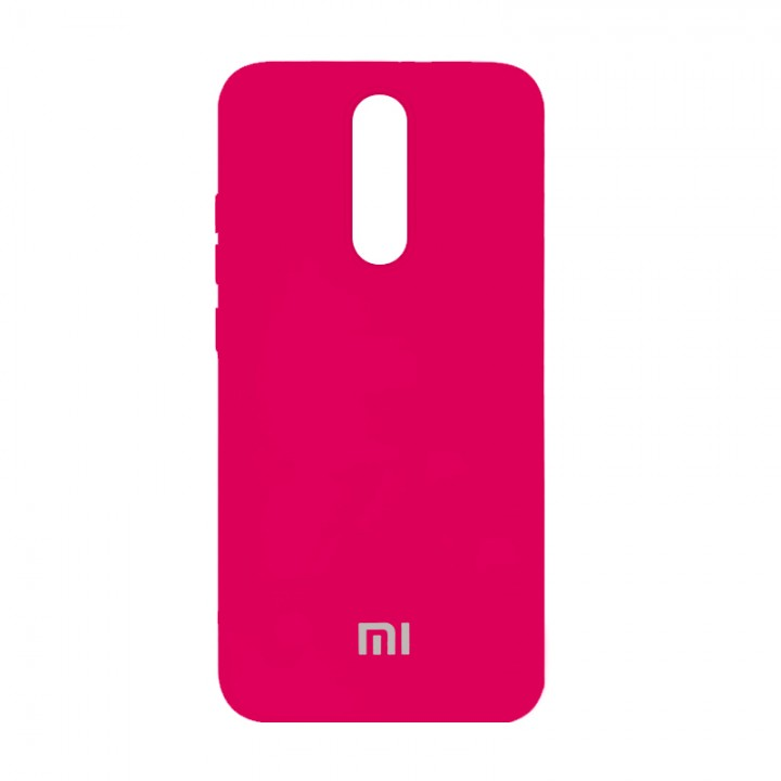 Silicone Case для Xiaomi Redmi 8 (Hot Pink)