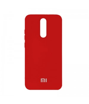 Silicone Case для Xiaomi Redmi 8 (Red)