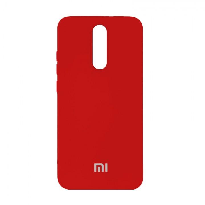 Silicone Case для Xiaomi Redmi 8 (Red)