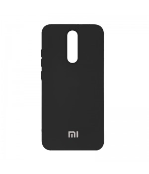 Silicone Case для Xiaomi Redmi 8 (Black)