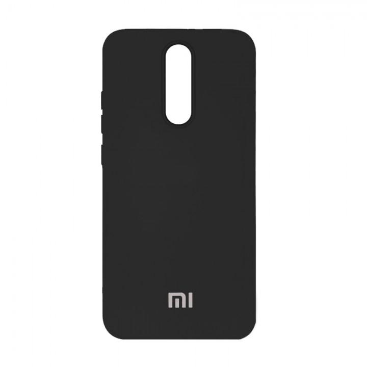 Silicone Case для Xiaomi Redmi 8 (Black)